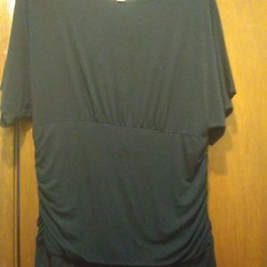 Dress Barn Tops - Dress Barn Navy Tunic Top Size Large